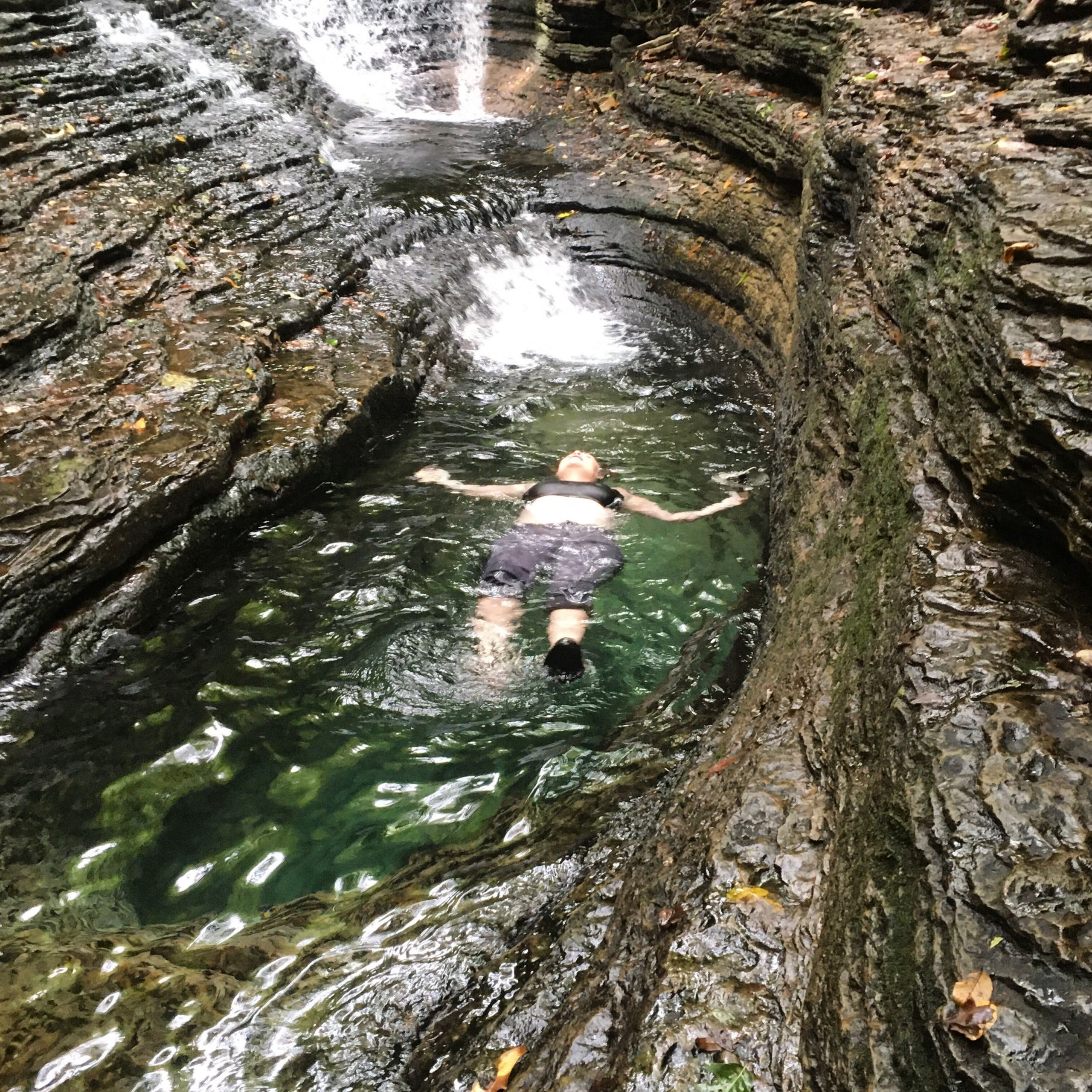 Swimming in the Devil's Bathtub