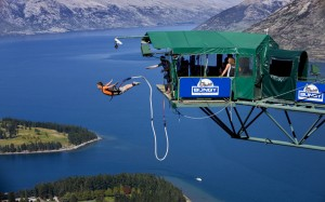 Queenstown bungee jumping