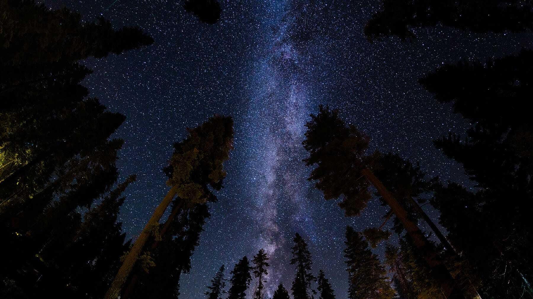 Starry skies at Voyageurs National Park