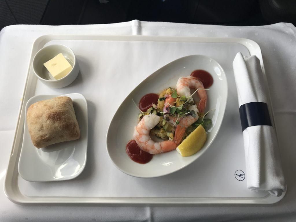 Lufthansa A340 business class starter