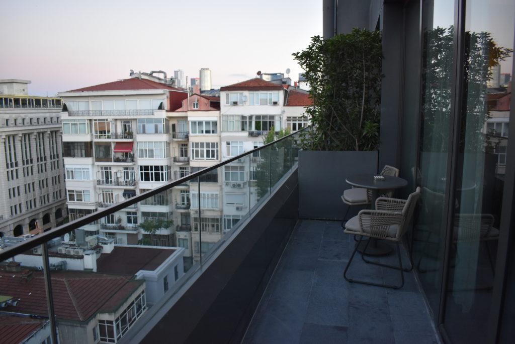 Nish Palas Istanbul terrace