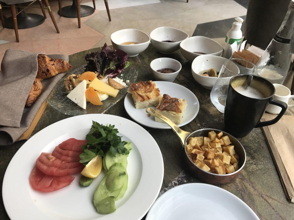 Nish Palas Istanbul Turkish breakfast
