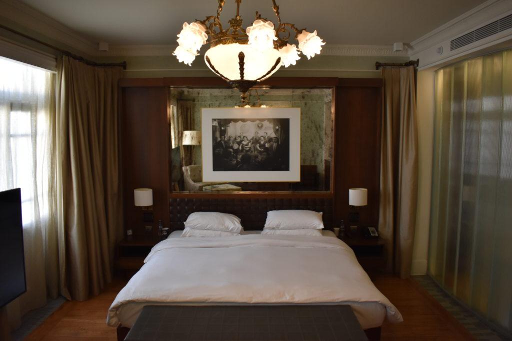 Park Hyatt Istanbul bed