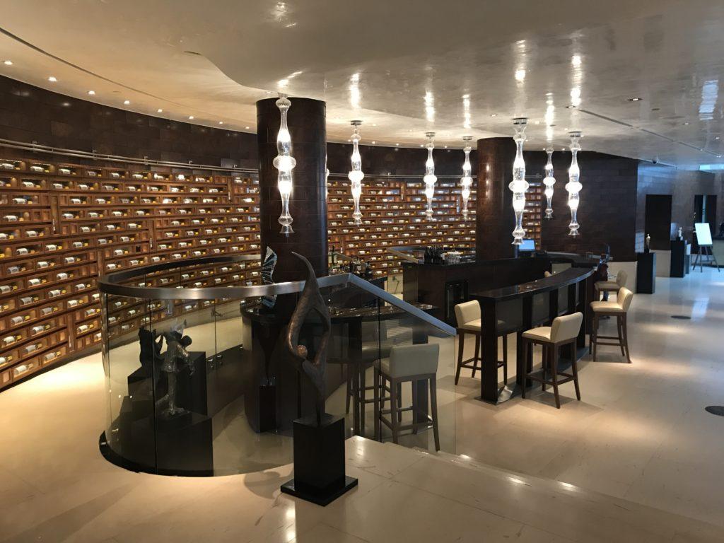 Park Hyatt Istanbul lobby bar