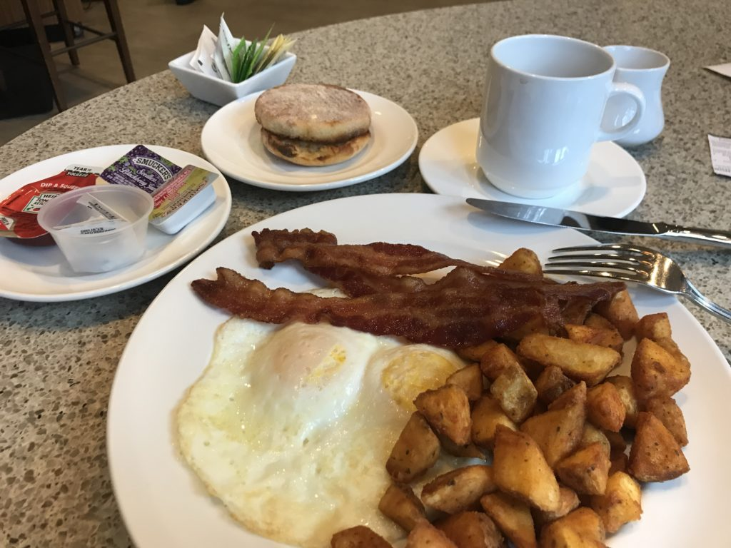 Seattle Airport Marriott breakfast