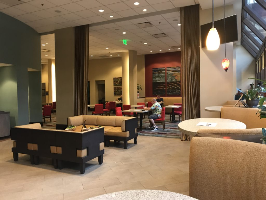 Seattle Airport Marriott restaurant