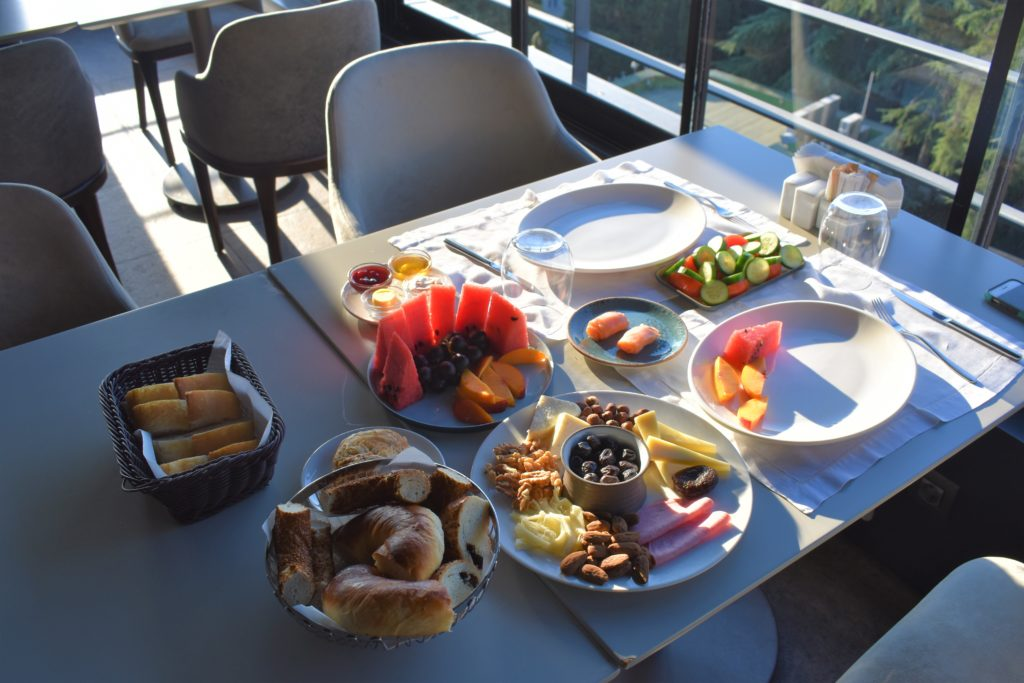 Tomtom Suites Istanbul breakfast