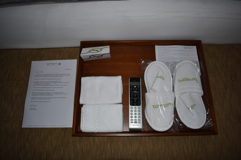 Tomtom Suites Istanbul tray