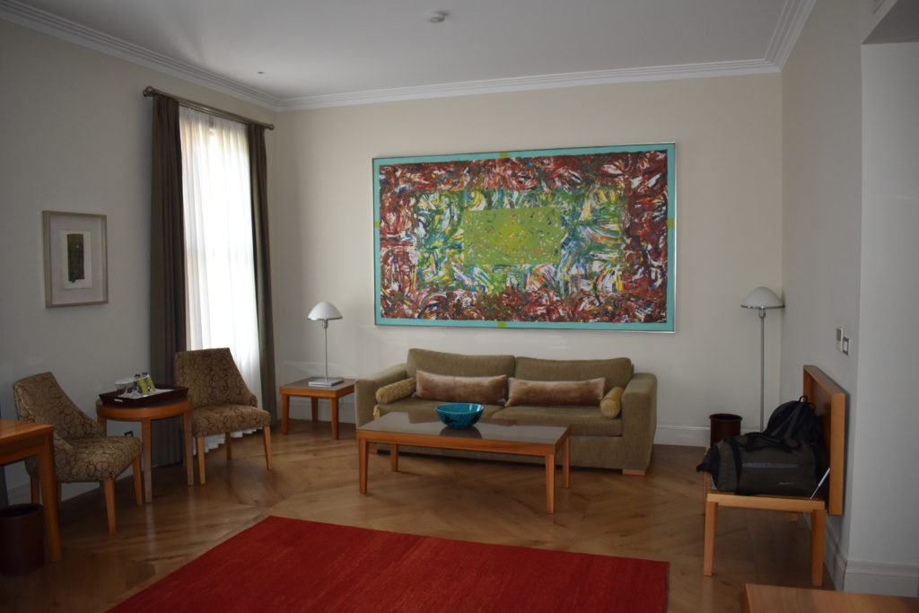 Tomtom Suites Istanbul living area